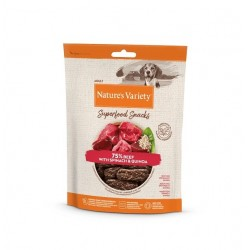 Nature's Variety Superfood Snacks Beef 85g