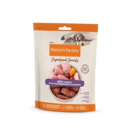 Nature's Variety Superfood Snacks Turkey 85g